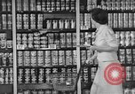 Image of supermarket grocery Greenbelt Maryland USA, 1939, second 5 stock footage video 65675053715