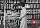 Image of supermarket grocery Greenbelt Maryland USA, 1939, second 6 stock footage video 65675053715