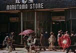 Image of ration line Kyoto Japan, 1946, second 8 stock footage video 65675053720