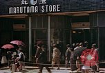 Image of ration line Kyoto Japan, 1946, second 10 stock footage video 65675053720