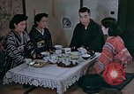 Image of Japanese family Kyoto Japan, 1946, second 4 stock footage video 65675053723
