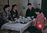 Image of Japanese family Kyoto Japan, 1946, second 9 stock footage video 65675053723