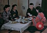 Image of Japanese family Kyoto Japan, 1946, second 11 stock footage video 65675053723