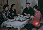 Image of Japanese family Kyoto Japan, 1946, second 12 stock footage video 65675053723