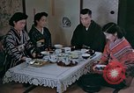Image of Japanese family Kyoto Japan, 1946, second 13 stock footage video 65675053723