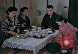 Image of Japanese family Kyoto Japan, 1946, second 14 stock footage video 65675053723