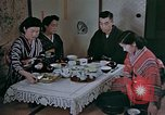 Image of Japanese family Kyoto Japan, 1946, second 15 stock footage video 65675053723