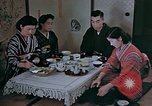 Image of Japanese family Kyoto Japan, 1946, second 17 stock footage video 65675053723
