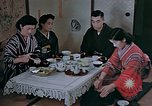 Image of Japanese family Kyoto Japan, 1946, second 18 stock footage video 65675053723