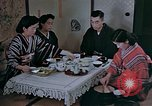 Image of Japanese family Kyoto Japan, 1946, second 20 stock footage video 65675053723