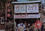 Image of entertainment section Kyoto Japan, 1946, second 2 stock footage video 65675053729