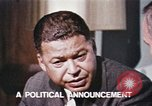 Image of Edward Brooke speaks about Richard Nixon United States USA, 1968, second 3 stock footage video 65675053761