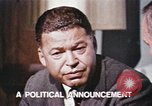 Image of Edward Brooke speaks about Richard Nixon United States USA, 1968, second 4 stock footage video 65675053761