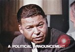 Image of Edward Brooke speaks about Richard Nixon United States USA, 1968, second 5 stock footage video 65675053761