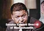Image of Edward Brooke speaks about Richard Nixon United States USA, 1968, second 6 stock footage video 65675053761