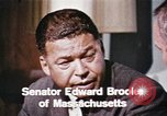 Image of Edward Brooke speaks about Richard Nixon United States USA, 1968, second 7 stock footage video 65675053761