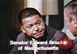 Image of Edward Brooke speaks about Richard Nixon United States USA, 1968, second 8 stock footage video 65675053761
