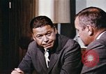 Image of Edward Brooke speaks about Richard Nixon United States USA, 1968, second 10 stock footage video 65675053761