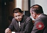 Image of Edward Brooke speaks about Richard Nixon United States USA, 1968, second 12 stock footage video 65675053761