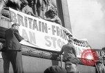 Image of Peace Campaign London England United Kingdom, 1938, second 4 stock footage video 65675053795