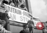 Image of Peace Campaign London England United Kingdom, 1938, second 5 stock footage video 65675053795