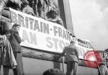 Image of Peace Campaign London England United Kingdom, 1938, second 9 stock footage video 65675053795