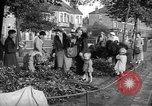 Image of Women pick up abandoned flowers London England United Kingdom, 1938, second 2 stock footage video 65675053799