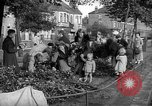 Image of Women pick up abandoned flowers London England United Kingdom, 1938, second 3 stock footage video 65675053799