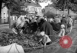 Image of Women pick up abandoned flowers London England United Kingdom, 1938, second 9 stock footage video 65675053799