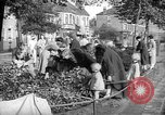 Image of Women pick up abandoned flowers London England United Kingdom, 1938, second 11 stock footage video 65675053799