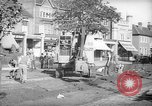 Image of steam shovel and heavy timbers at construction site London England United Kingdom, 1938, second 7 stock footage video 65675053800