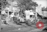 Image of steam shovel and heavy timbers at construction site London England United Kingdom, 1938, second 8 stock footage video 65675053800
