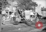 Image of steam shovel and heavy timbers at construction site London England United Kingdom, 1938, second 9 stock footage video 65675053800