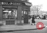 Image of bakery shop Paris France, 1938, second 2 stock footage video 65675053812