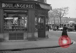 Image of bakery shop Paris France, 1938, second 3 stock footage video 65675053812