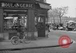 Image of bakery shop Paris France, 1938, second 5 stock footage video 65675053812