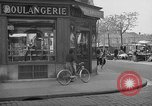 Image of bakery shop Paris France, 1938, second 6 stock footage video 65675053812