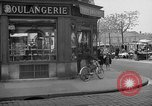 Image of bakery shop Paris France, 1938, second 7 stock footage video 65675053812