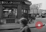 Image of bakery shop Paris France, 1938, second 8 stock footage video 65675053812