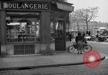 Image of bakery shop Paris France, 1938, second 9 stock footage video 65675053812