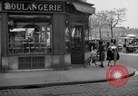 Image of bakery shop Paris France, 1938, second 10 stock footage video 65675053812