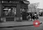 Image of bakery shop Paris France, 1938, second 11 stock footage video 65675053812