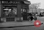 Image of bakery shop Paris France, 1938, second 12 stock footage video 65675053812