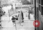 Image of gas masks depot London England United Kingdom, 1939, second 1 stock footage video 65675053822