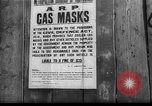 Image of gas masks London England United Kingdom, 1939, second 1 stock footage video 65675053823