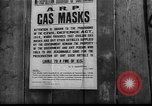 Image of gas masks London England United Kingdom, 1939, second 3 stock footage video 65675053823