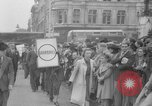 Image of Crowds gather near Parliament London England United Kingdom, 1939, second 11 stock footage video 65675053828