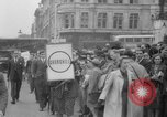 Image of Crowds gather near Parliament London England United Kingdom, 1939, second 12 stock footage video 65675053828