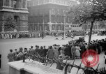 Image of Crowds gather at Whitehall and Downing Streets London England United Kingdom, 1939, second 2 stock footage video 65675053829