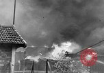 Image of bomb explosions Paris France, 1940, second 6 stock footage video 65675053837